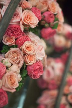 shades of pink flower ideas