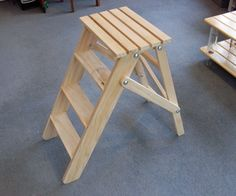 I made this wooden stepladder based on some plans I found online.  I didn't follow the plans very closely (my bolts and dimensions were different) - I...