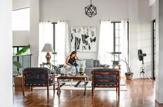 Interior decorator Rochelle Javier fills her two-storey home with customized pieces, budget-friendly finds, and personalized touches