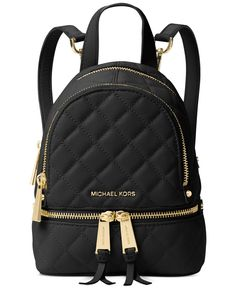 Michael Kors Michael Rhea Zip Mini Messenger Backpack In Black Michael Kors Rucksack, Sac Michael Kors, Michael Kors Outlet, Handbags Michael Kors, Micheal Kors Backpack, Michael Kors Shoes, Mk Handbags, Purses And Handbags, Designer Handbags