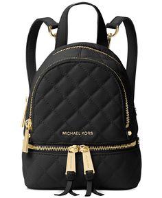 MICHAEL Michael Kors Rhea Zip Mini Messenger Backpack | macys.com