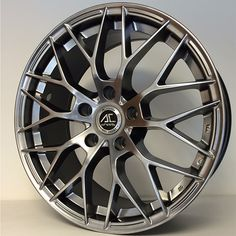17 AC SAPHIRE HYPER BLACK alloy wheels for 5 studs wheel fitment in 7.5x17 rim size