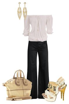 """""""Enjoying A Day Of Shopping"""" by sweetnuff ❤ liked on Polyvore featuring Michael Kors, Givenchy and Eddie Borgo"""