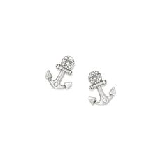 Check out these simple but beautiful Brighton Coastal Post Earrings! Makes us ready for summer! Nautical Looks, Dressed To The Nines, Brighton Jewelry, Anchors, Jewelry Branding, Bling Bling, Jewerly, Coastal, Pride