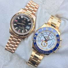 Day Date 2 & Yacht Master 2 ...not a bad duo to have