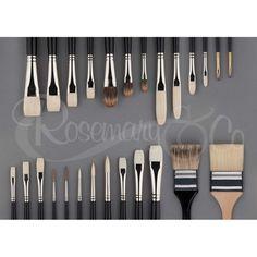 Scott Christensen - Full Set | Rosemary & Co Artist Brushes