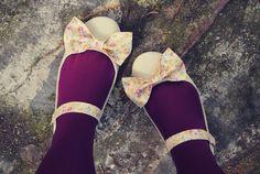 diy bow mary janes