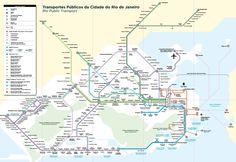 Transports publics ville de Rio de Janeiro