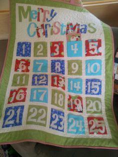 Cute countdown to Christmas calendar.