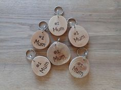 Handmade in the Highlands. – The Woodlife Way Key Rings, Mother Day Gifts, Wood Crafts, Mothers, Personalized Items, Highlands, Unique Jewelry, Handmade Gifts
