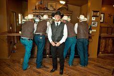 Country wedding grooms attire western wedding groom attire c Cowboy Wedding Attire, Country Wedding Groom, Rustic Wedding, Country Weddings, Wedding Pics, Chic Wedding, Dream Wedding, Wedding Ideas, Wedding Photoshoot