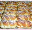 Sweet vanilla rolls - just delicious - Backideen - Cuisine et Boissons Dog Recipes, Pastry Recipes, Muffin Recipes, Sweet Recipes, Cake Recipes, Breakfast Recipes, Sweet Bread Meat, German Baking, Dog Cakes