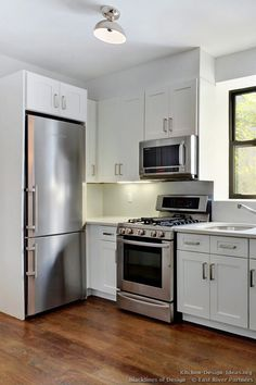 residential vintage kitchen hood ideas | ... kitchen, while the microwave hood also provides a space-saving design
