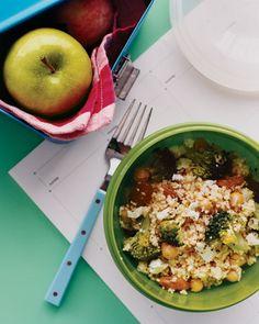 Couscous Salad with Broccoli and Raisins - Martha Stewart Recipes