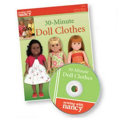 Sewing With Nancy 30-Minute Doll Clothes