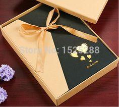 Decoração de casamento álbum artesanal foto DIY álbum álbum de fotos coração de papel 180 10 polegada(China (Mainland))