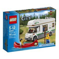 #amazon LEGO City Great Vehicles 60057 Camper Van - $15.99 (save 20%) #legocitygreatvehicles #lego #toy