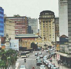 Avenida Júlio de Castilhos em Porto Alegre, RS