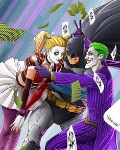 Harley Batman Joker