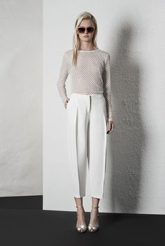 Reiss Spring Summer Womenswear Lookbook | Riviera | white on white #SS14