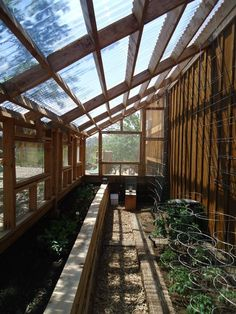 Greenhouse - utilise side space