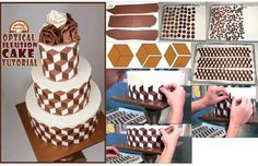 Optical cake tutorial  I need to try this