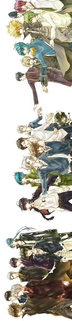 Vongola 1st Generation-Vongola 10th Generation-Vongola 10th Generation TYL (Ten Years Later)