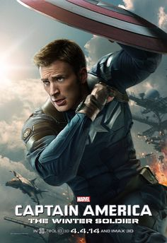 Captain America: The Winter Soldier Starring Chris Evans, Scarlett Johansson, Samuel L. Steve Rogers struggles to embrace his role in the modern world and battles a new threat from old history: the Soviet agent known as the Winter Soldier. Captain America 2, Steve Rogers, Beau Film, Chris Evans, Love Movie, Movie Tv, Movie Plot, Winter Soldier Movie, Films Marvel