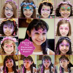 Face paint by Lara Cannon, photos by Jujubean Photography.