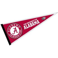"Alabama Crimson Tide 12"" X 30"" Felt College Pennant"