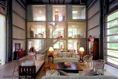10 Clever Architectural Creations Using Cargo Containers: Shipping Container Homes and Offices