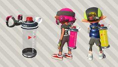 Nintendo nos muestra al detalle los nuevos Tanques de tinta de Splatoon 2
