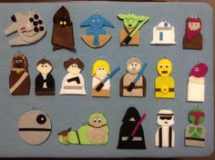 Felt Star Wars Ornaments - Album on Imgur