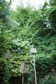 birdhouses Via Michael Graydon http://diariodiunrestauro.altervista.org/