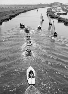 """ Sailingboats "" Holland 1955/1960. photo: Kees Scherer"