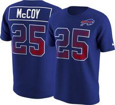 e2b059309 Nike Men s Buffalo LeSean McCoy  25 Prism Player Royal T-Shirt