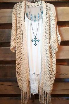 Women's Online Clothing Boutique - Angel Heart Boutique – Page 4 Boho Fashion, Fashion Outfits, Womens Fashion, Fashion 2018, Moda Country, Plus Size Lace Dress, Estilo Hippie, Plus Size Cardigans, Online Clothing Boutiques