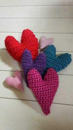 ハートの編み図 - ♥♥♥happy mood♥♥♥