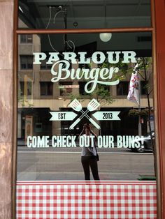 Burger Parlour on George St, Sydney