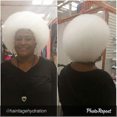 Snow White Afro @hairitagehydration - http://www.blackhairinformation.com/community/hairstyle-gallery/natural-hairstyles/snow-white-afro-hairitagehydration/ #naturalhair