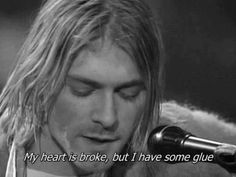 Mr. Cobain you got me... ❤