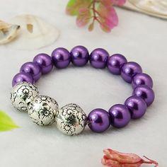 PandaHall Jewelry—Fashion Glass Pearl Bracelets with CCB Acrylic Beads | PandaHall Beads Jewelry Blog