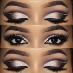 I love this makeup! Glam but easy to acquire.