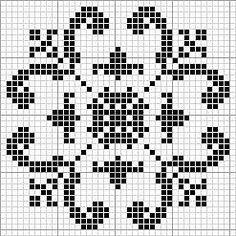 Dragon Cross Stitch, Mini Cross Stitch, Crochet Cross, Filet Crochet, Cross Stitch Designs, Cross Stitch Patterns, Cross Stitching, Cross Stitch Embroidery, Cross Stitch Geometric