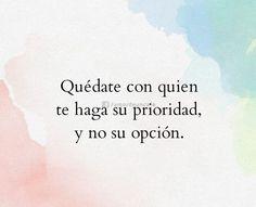 No una opción