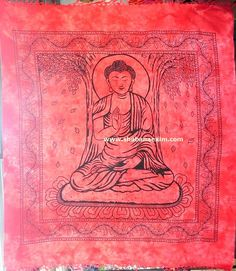 Gautam Buddha New Arrival Tie Dye Printed Tapestry No Description Product Id:: 3050 Size:: 150X220cm, 210X240 cm, Material:: 100% Cotton Design:: Printed Colors:: Any Custom Color