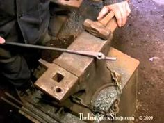 Making Blacksmith Tongs - 2