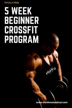 5 Week Beginner Crossfit Program - If you're like me you'll know that starting any new workout program can be very difficult, unle - Crossfit Workout Program, Crossfit Workouts For Beginners, Wod Workout, Workout Programs, Gym Workouts, Crossfit Gym, Training Workouts, 30 Day Fitness, Fitness Routines