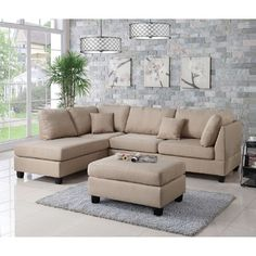 found it at wayfair reversible chaise sectional