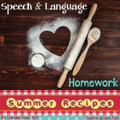 Making speech & language homework easy and fun for the whole FAMILY!